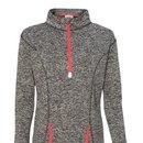 J. America 8617 Ladies COSMIC Fleece 1/4 Zip