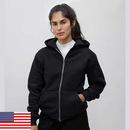 Los Angeles Apparel HF10 Heavy weight Fleece Zip up Hood