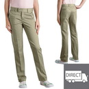 Dickies Occupational KP3319 Girls Stretch Pant (Slim Fit, Straight Leg: Sizes 4-6X)