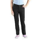 Dickies Occupational KP801 Girls Stretch Pant (Skinny Fit, Straight Leg: Sizes 7-20)