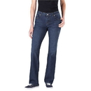 Dickies Occupational FD136 Women's Stretch Denim Jean (Relaxed Fit, Straight Leg: Short)