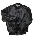 Dunbrooke 1010 Adult Flannel Lined Satin Baseball Jacket