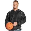 Rawlings RP9715 1/4 Zip Dobby Jacket