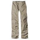 Dickies Occupational 63-305 Girls Flat Front Pant (Classic Fit, Slim: Sizes 4-6X)