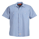 Dickies Occupational LS535T Short Sleeve Industrial Work Shirt (Tall)