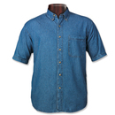 Sierra Pacific 6211 Tall Short Sleeve Denim Shirt