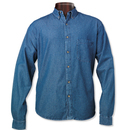 Sierra Pacific 7211 Tall Long Sleeve Denim Shirt