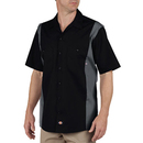 Dickies Occupational LS524T Short Sleeve Industrial Color Block Shirt (Tall)
