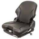 K&M 6851 Kubota BX1870-BX2670 Series KM 136 Seat & Suspension Kits: Black Vinyl - Air