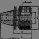 BISON 1854114 Taper 40 / 1/4