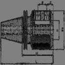 BISON 1854117 Taper 40 / -5/16
