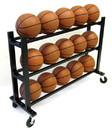 Trigon Sports CART315 15-Ball HD Ball Cart 3-Tier