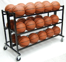 Trigon Sports CART330 Heavy Duty Double Wide Ball Cart