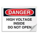 Seton 01898 Danger Signs - High Voltage Inside Do Not Open