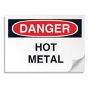 Seton 01910 Danger Signs - Hot Metal