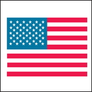 Seton 11640 American Flag Country Of Origin Labels