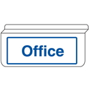 Seton 13930 Office Sign - Drop Ceiling Double-Sided Signs