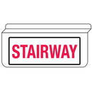 Seton 13934 Stairway Drop Ceiling Double-Sided Sign