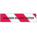 Seton 14924 Economy Printed Barricade Tape - Danger