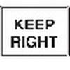 Seton 15397 Traffic Signs - Keep Right