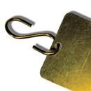 "Seton Brass ""S"" Hooks Valve Tag Fasteners"