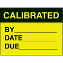 Seton 16953 Calibrated By Date Due Fluorescent Paper Labels