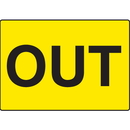 Seton Out Gate Directional Signs - 17285