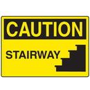 Seton 18559 OSHA Caution Signs - Stairway