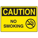 Seton 18565 OSHA Caution Signs - No Smoking
