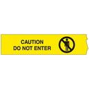 Seton 18860 Barricade Tape - Caution Do Not Enter