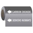 Seton 21946 Gas Self-Adhesive Pipe Markers-On-A-Roll - Carbon Dioxide