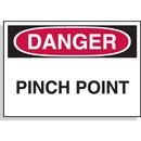 Seton 23067 Hazard Warning Labels - Danger Pinch Point