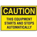 Seton 23115 Hazard Warning Labels - Caution