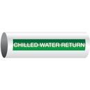 Opti-Code 23913 Opti-Code Self-Adhesive Pipe Markers - Chilled Water Return