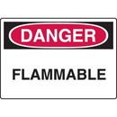 Seton Harsh Condition OSHA Signs - Danger - Flammable