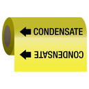 Seton 25136 Self-Adhesive Pipe Markers-On-A-Roll - Condensate