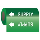 Seton 25153 Self-Adhesive Pipe Markers-On-A-Roll - Supply