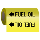 Seton 25167 Self-Adhesive Pipe Markers-On-A-Roll - Fuel Oil