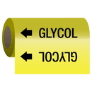 Seton 25186 Self-Adhesive Pipe Markers-On-A-Roll - Glycol