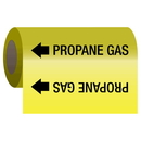 Seton 25197 Self-Adhesive Pipe Markers-On-A-Roll - Propane Gas