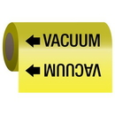 Seton 25208 Self-Adhesive Pipe Markers-On-A-Roll - Vacuum