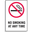 Seton No Smoking  Any Time Signs