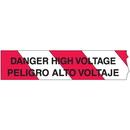 Seton 26787 Barricade Tape - Danger High Voltage