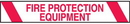 Seton 26823 Printed Warning Tapes - Fire Protection Equipment