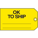 Seton Ok To Ship Maintenance Tags - 26858