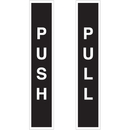 Seton 28820 Push / Pull Safety Door And Window Decals