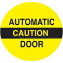 Seton 28824 Caution Automatic Door Safety Door And Window Decals