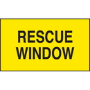 Seton 28826 Rescue Window Safety Door And Window Decals
