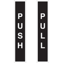 Seton 28833 Push / Pull Safety Door And Window Decals