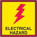 Seton 29367 Safety Traffic Cone Signs - Electrical Hazard